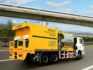 HGY5253TFC Chip Spreader with Asphalt Binder (For Chip Seal Surface Treatment)