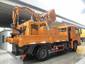 Tunnel Cleaning Vehicle with High Pressure Washing System