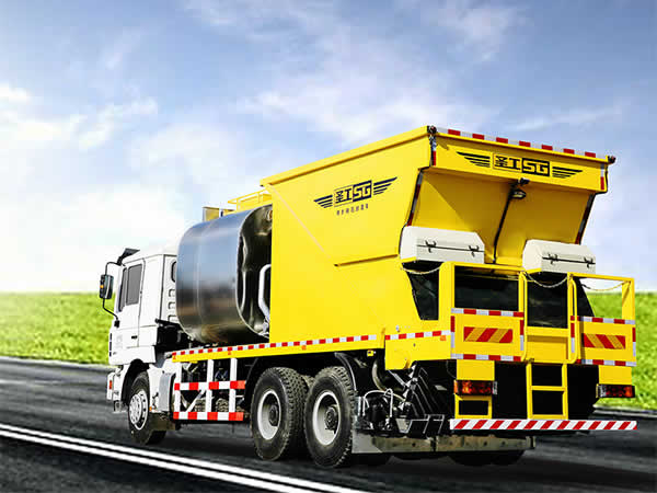 HGY5250TFC Chip Spreader with Asphalt Binder (For Chip Seal Surface Treatment)